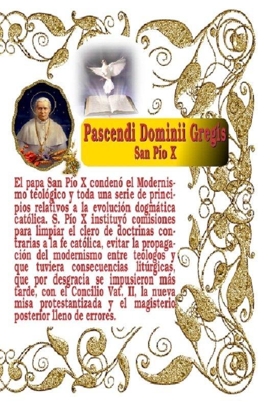 Pascendi de San Pío X